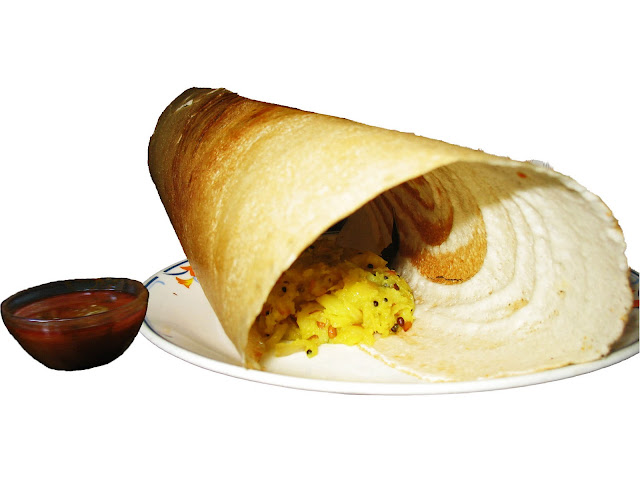 masala dosa and curry cut-out
