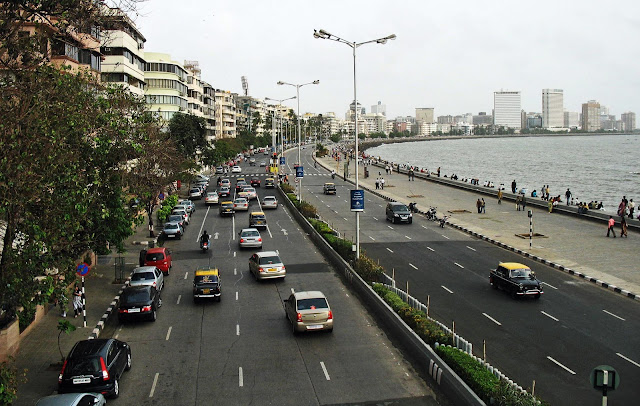 Marine Drive view from flyover