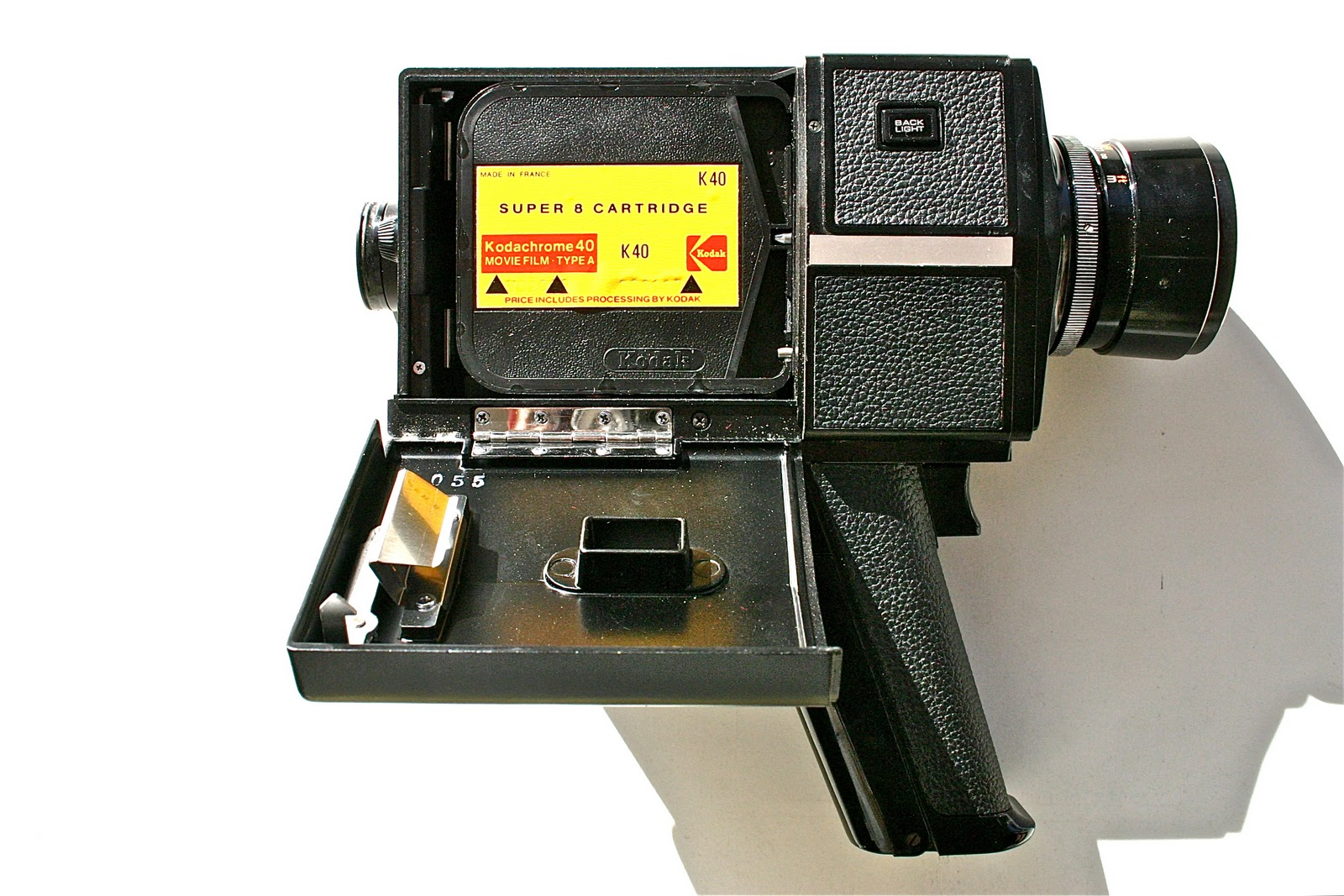 by the way   : Super 8 Video Camera, Chinon 44