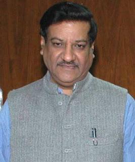 Prithiviraj Chavan - 17th Chief Minister of Maharashtra