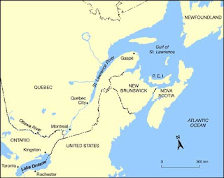 St Lawrence River World Map.Harry Potter St Lawrence River
