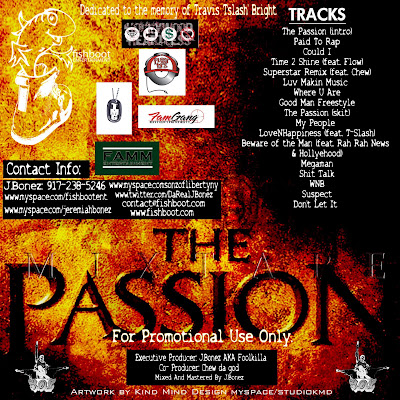 Passion+of+the+Christ+Mixtape+2+back+ J Bonez The Passion (MIxtape) Hosted By DJ Flatline