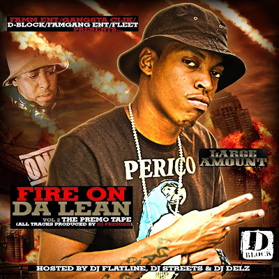 [The Fleet Djs] New Post : LARGE AMOUNT Fire On Da Lean Vol.2  HOSTED BY DJ FLATLINE, DJ DELZ AND DJ STREETS