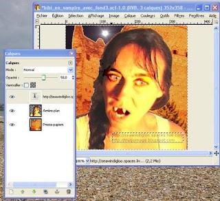 Le blog du truqueur d 39 images utiliser des calques avec gimp for Afficher fenetre calque gimp