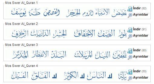 Al mushaf font free download