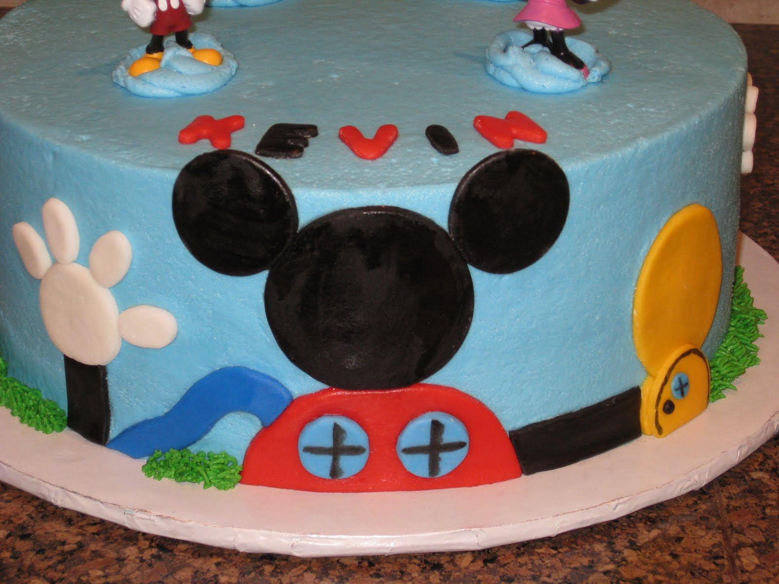 Shannon S Creative Cakes Mickey Mouse Clubhouse Cake And