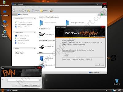 Windows xp sp3 darklite edition 2011 – sata version activated | master.
