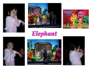 My Precious Princess, Xin Ru: Barney Let's Imagine Live in