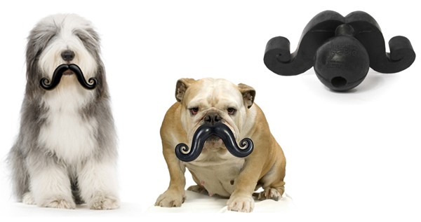 Humunga Stache Ball Dog Toy