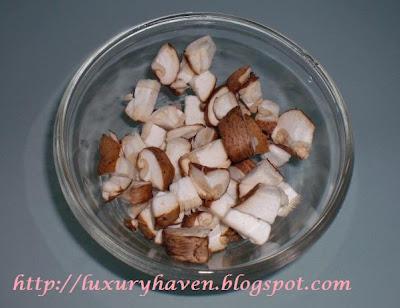 unicurd mushroom tofu puff recipe