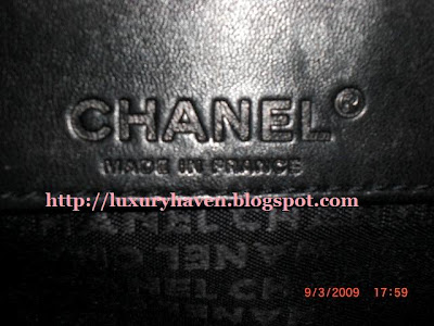 how to identify an authentic chanel bag
