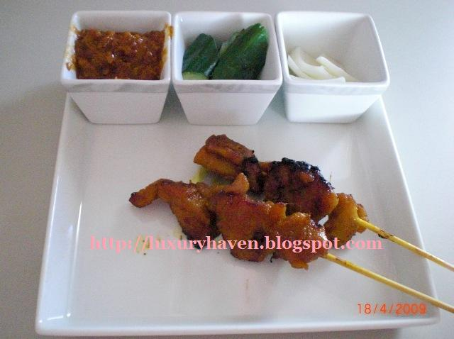 singapore airlines business class satay