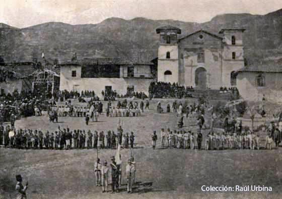 Evolución histórica de la Plaza de Armas de Cajabamba