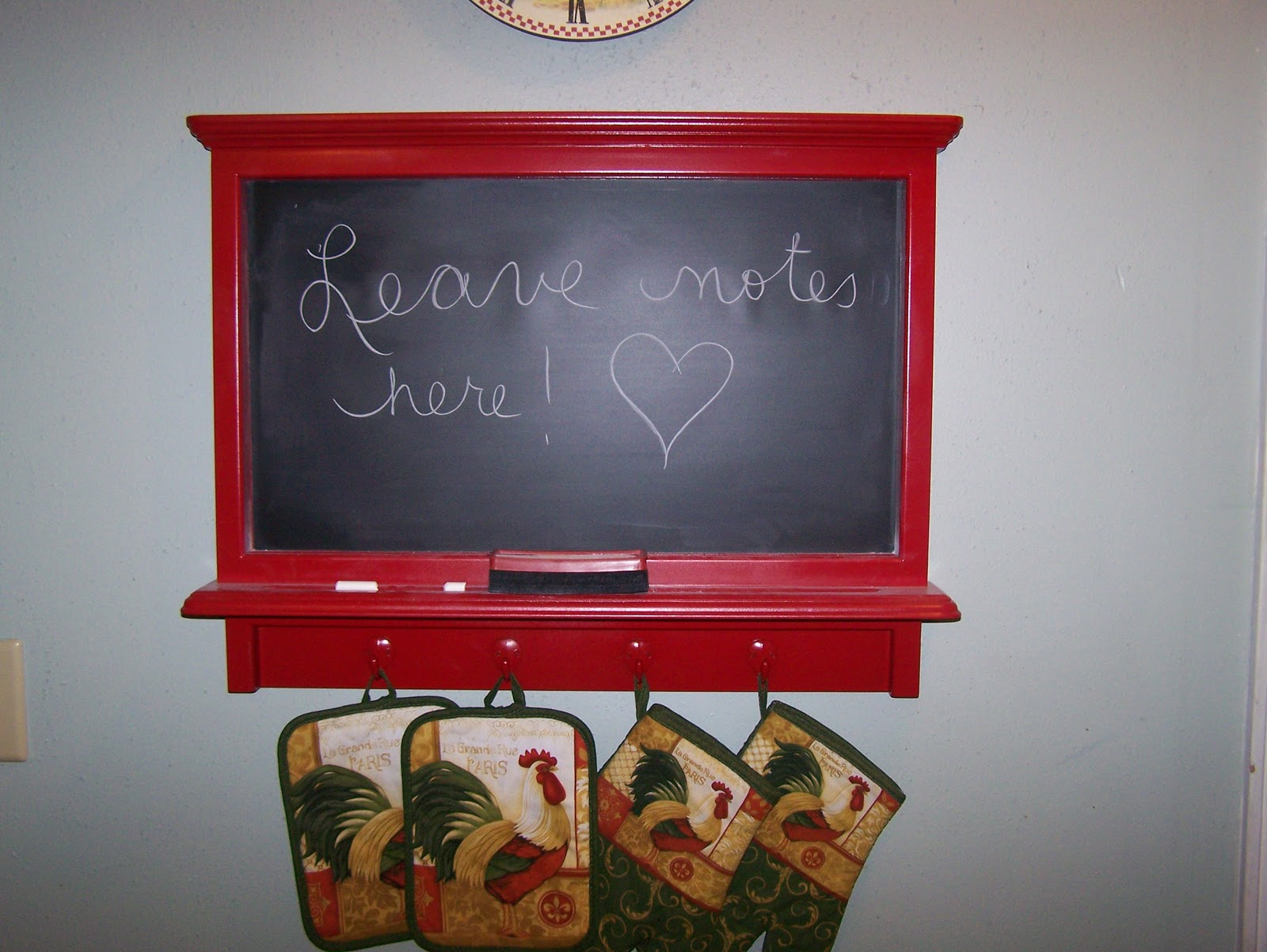 Little Yellow Home In The Country Kitchen Chalkboard