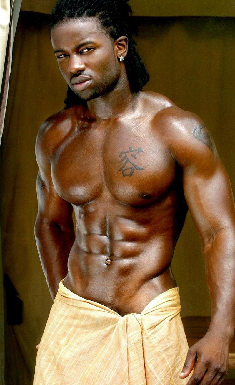 Soft And Hard Gay Pictures Beautiful Black Male Body-6164