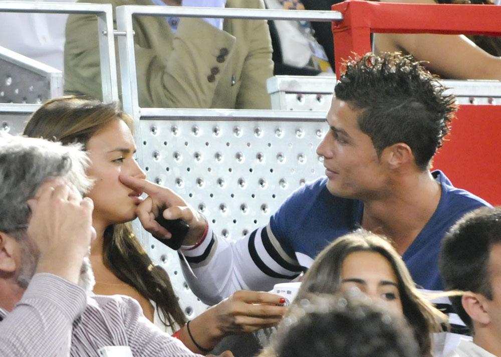 Wallpaper World: Irina Shayk With Boyfriend Cristiano Ronaldo
