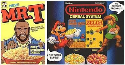 retro cereals