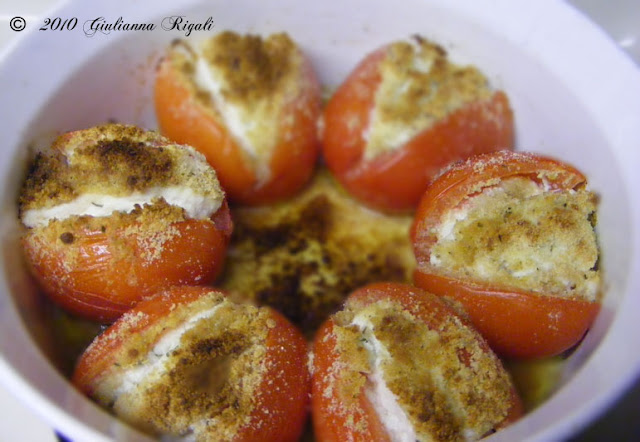 Italian Stuffed Tomatoes Recipe