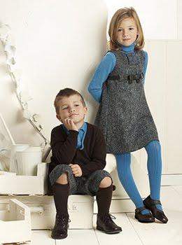 moda infantil colección otoño invierno