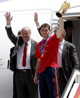 Vicente Del Bosque Campeones Copa del Mundo