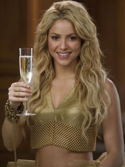 Shakira burbuja Freixenet solidaria felicita la Navidad 2010