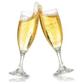 suerte feliz año nuevo