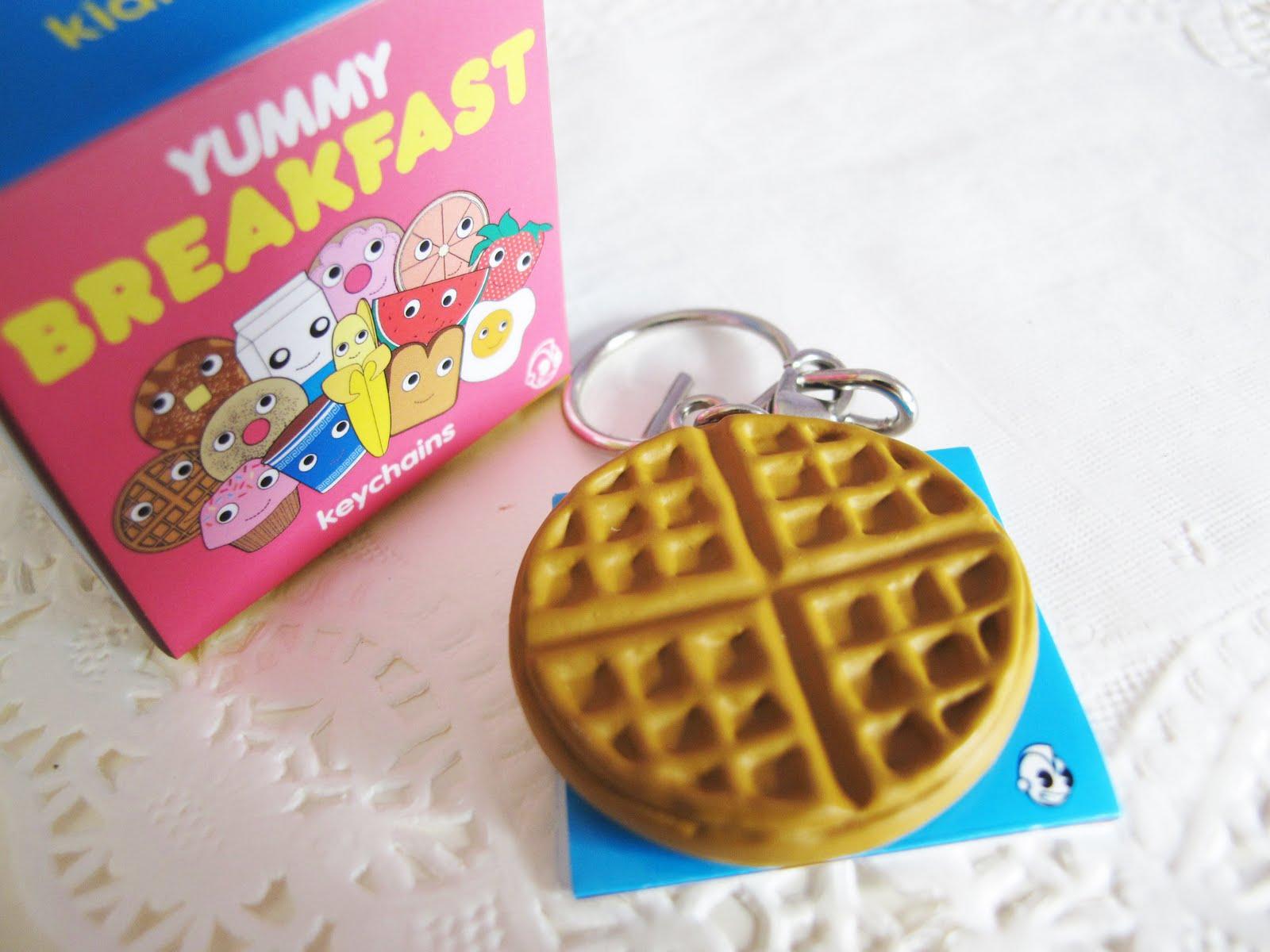 xoxo et cetera yummy breakfast charm keychains