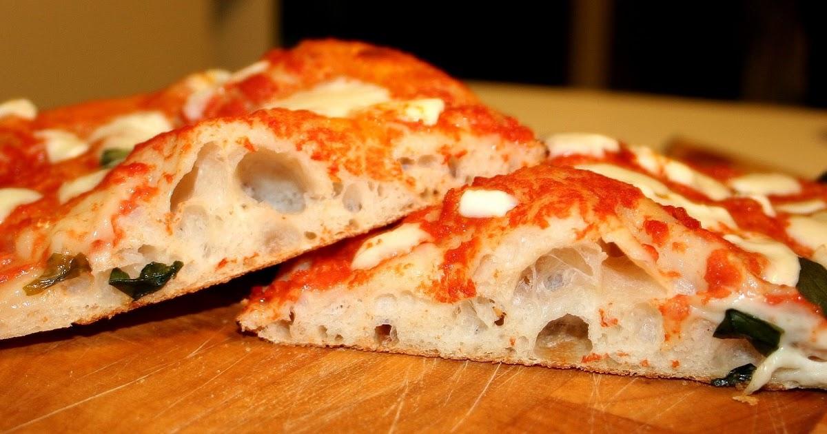 Ricetta Impasto Pizza A Lunga Lievitazione.Profumo Di Lievito La Pizza In Teglia A Lunga Maturazione
