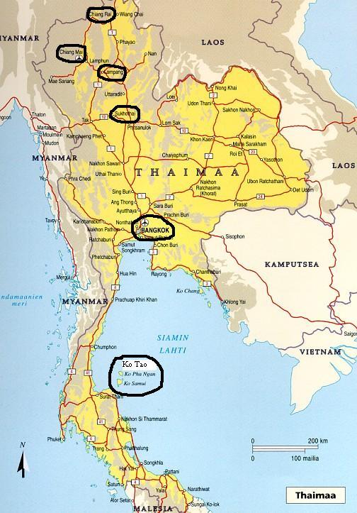 Thaimaa Lentokentät