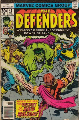 Defenders #44, the Red Rajah