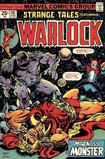 Strange Tales #181, Jim Starlin's Warlock