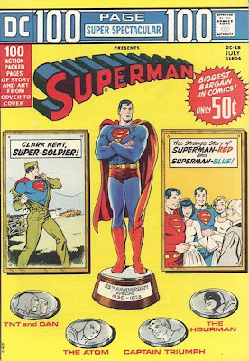 Superman 100 page super spectacular, cover