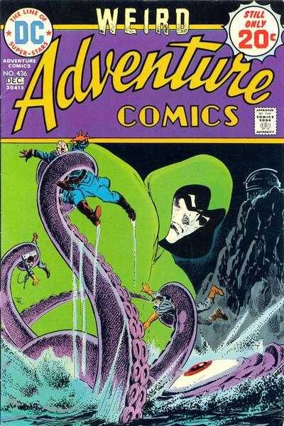 Weird Adventure Comics, Jim Aparo cover, the gasmen and the Spectre