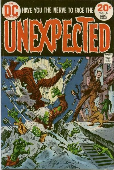 DC Comics, The Unexpected, Nick Cardy cover