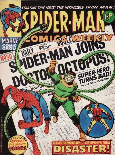 Spider-Man Comics Weekly #50