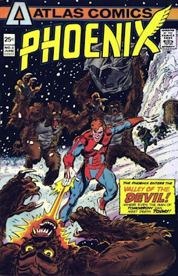 Atlas Comics Phoenix #3, Satan and the Yetis