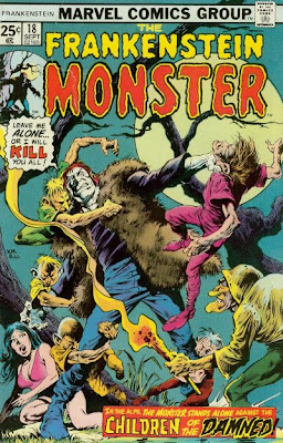 Marvel Comics Frankenstein Monster #18