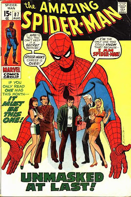 Amazing Spider-Man #87, Gwen Stacy and Mary Jane Watson