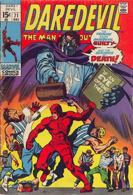 Daredevil #71, The Tribune