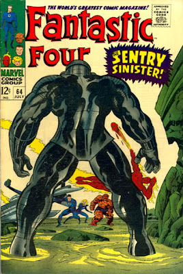 Fantastic Four #64, the Sentry makes his first appearance