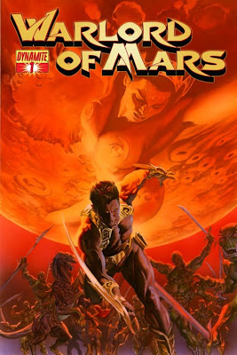 Wednesday Comics on Thursday - October 14, 2010 - Warlord of Mars