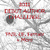 2011 Debut Author Challenge - January Debut Authors
