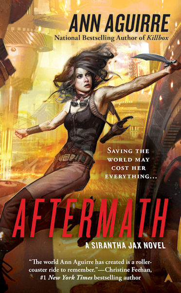 Aftermath by Ann Aguirre - Cover - February 8, 2011