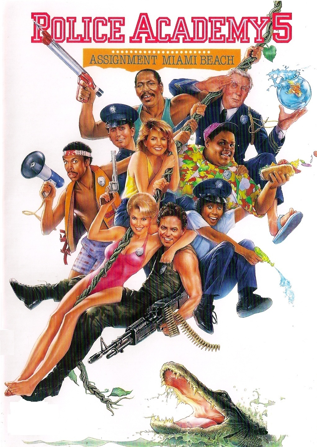 Police Academy: The Posters