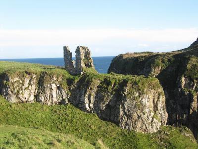 castillo de Dunseverick, castillos irlanda