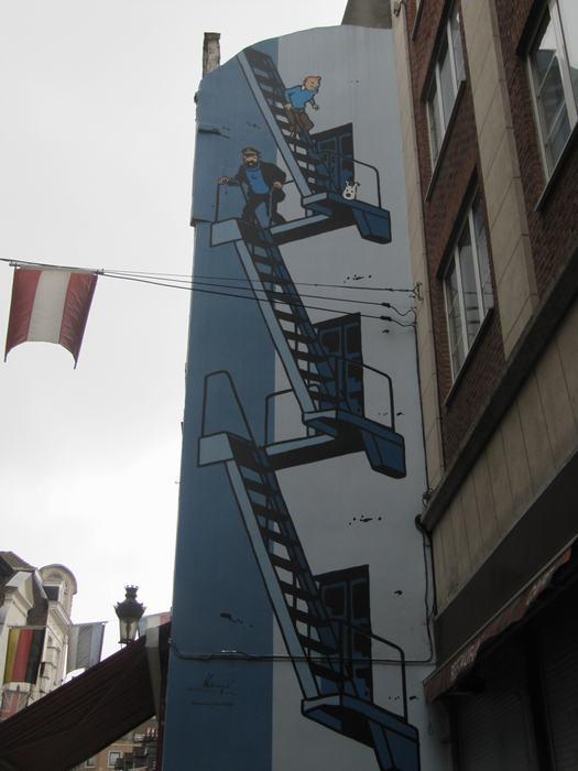 Mural Hergé – Tintin