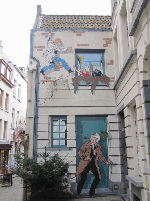 Mural Tibet & Duchâteau - Ric Hochet