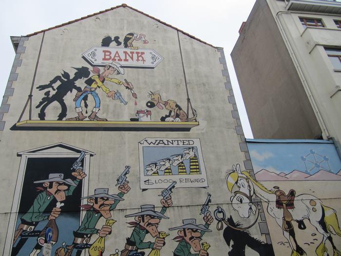 Mural Morris - Lucky Luke