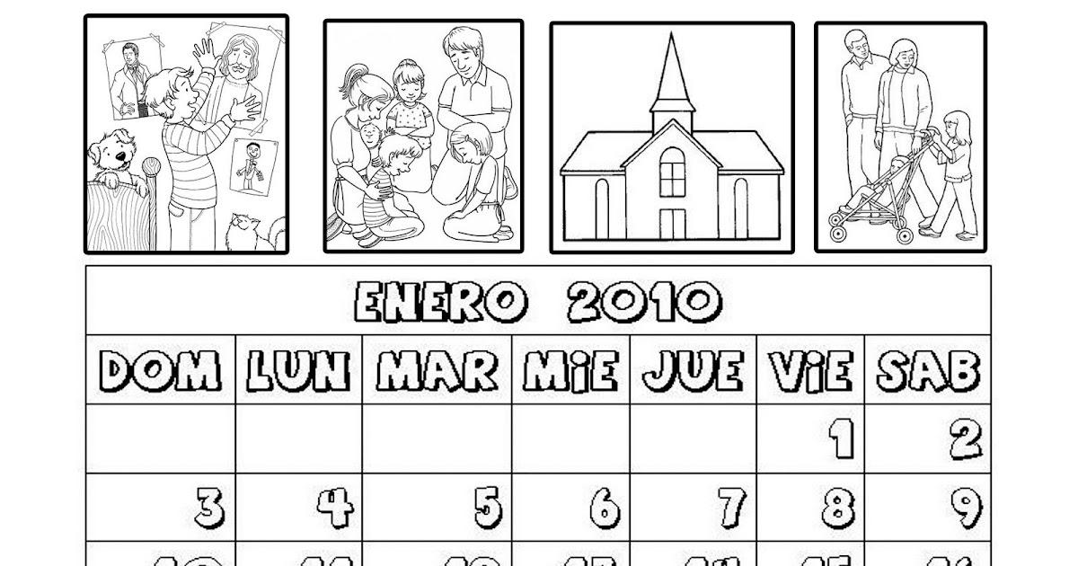 Holamormon Primaria 2015 Holamormon Calendario 2016 Para