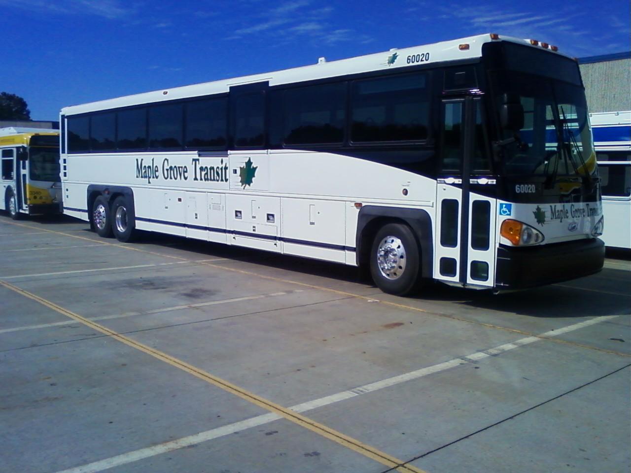 Twin Cities Transit Maple Grove New Mci Coach